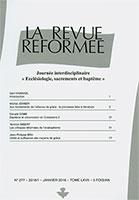 revue réformée, donald cobb, jean-philippe bru