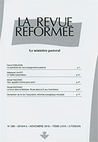revue réformée, david powlison, micaël razzano
