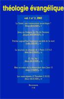 revue théologie évangélique