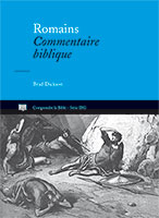 9782906090699, romains, commentaire, brad dickson
