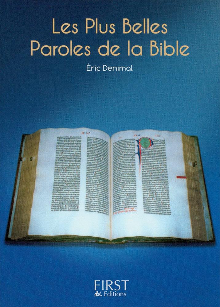 Les plus belles paroles de la bible for Les plus belles suites parentales